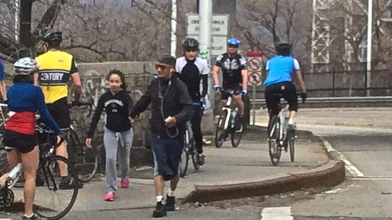 CAB178 - peds & cyclists