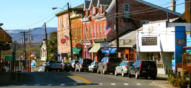 Main Street New Paltz Downtown View