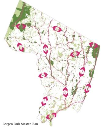 Bergen Park MP Map