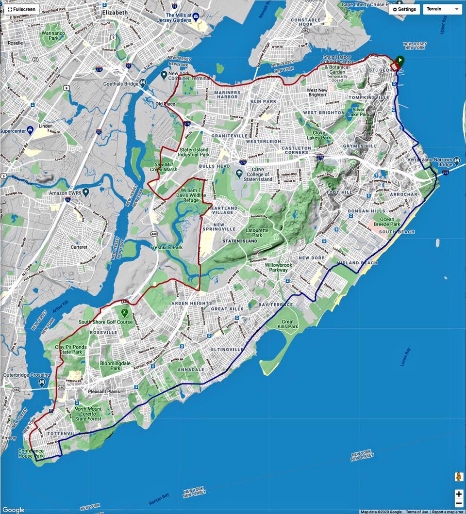 #4 - Staten Island Loop